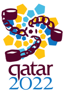 Qatar Logo in Chains