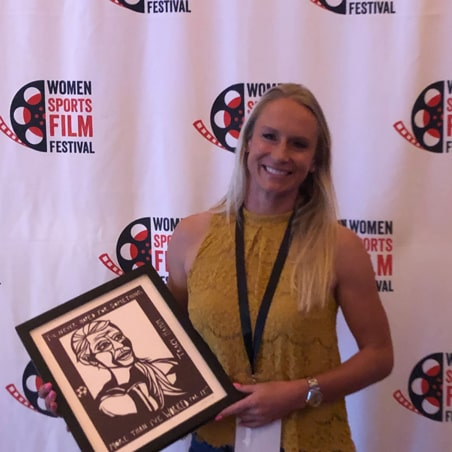 Tracy Hamm at Women Sports Film Festival