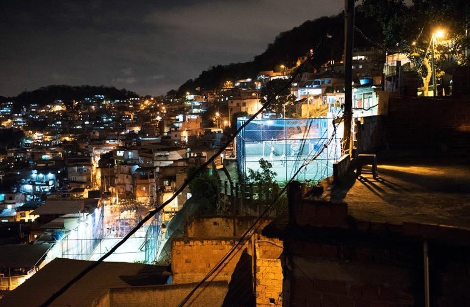 Favela street pitches in Complexo da Penha