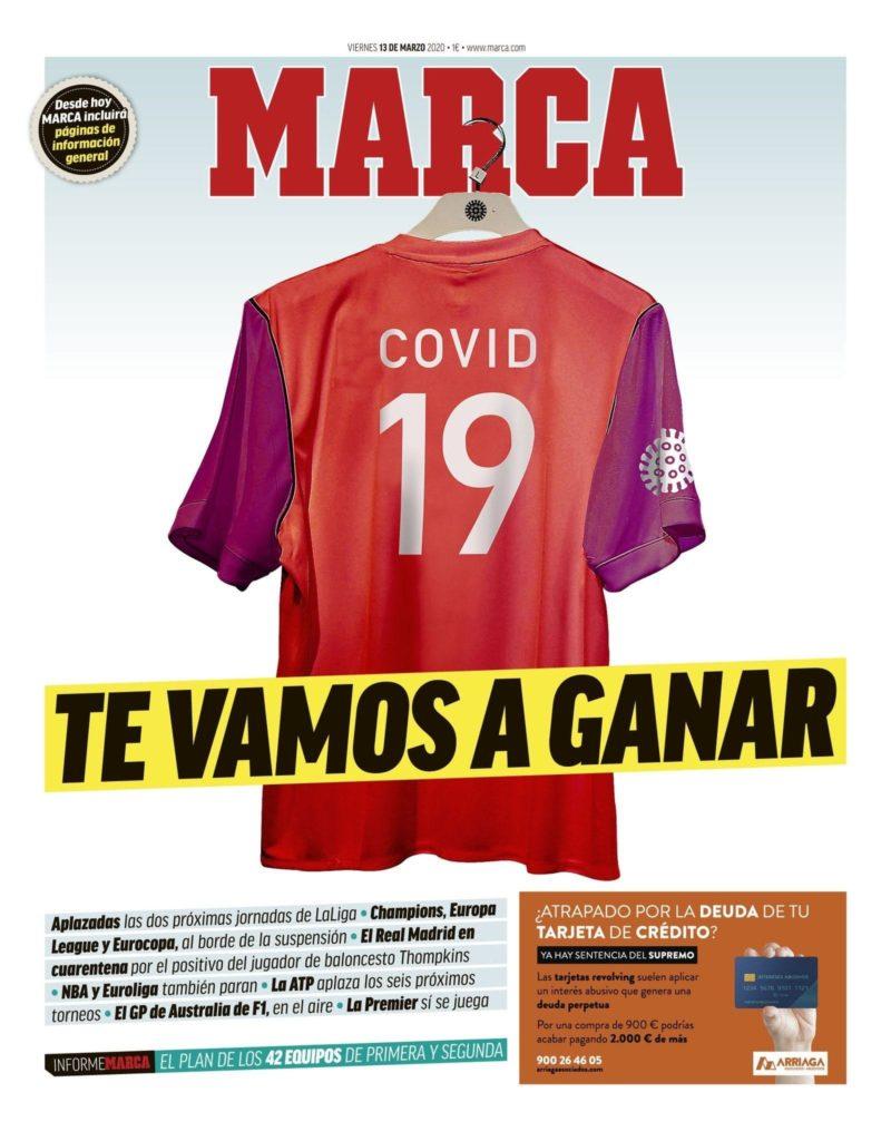 MARCA COVID-19 jersey