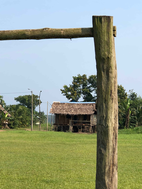 Soccer field in the Amazon